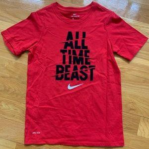 Nike Kids Dri-Fit T-Shirt Size Medium